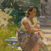 Этюд с женской фигурой, 1955