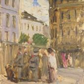 Воробушки (эскиз к картине), 1955
