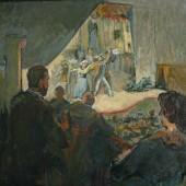 Лев Зевин. Театральная ложа, Конец 1930-х
